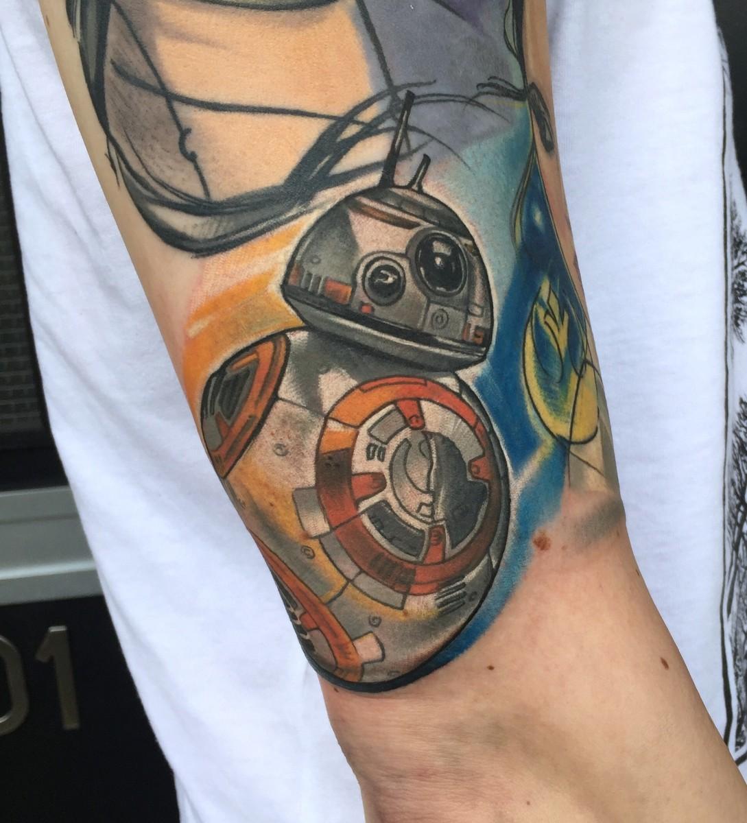 Kalejdoskop Tattoo Góry Dotwork4